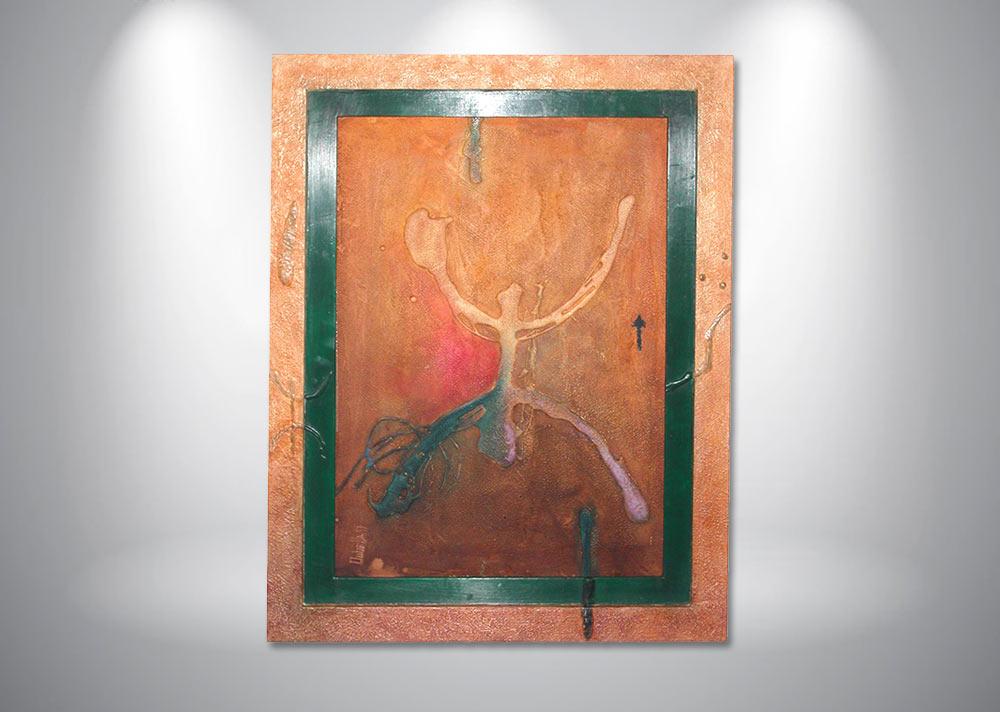 encadrement-peinture-huile-contemporaine