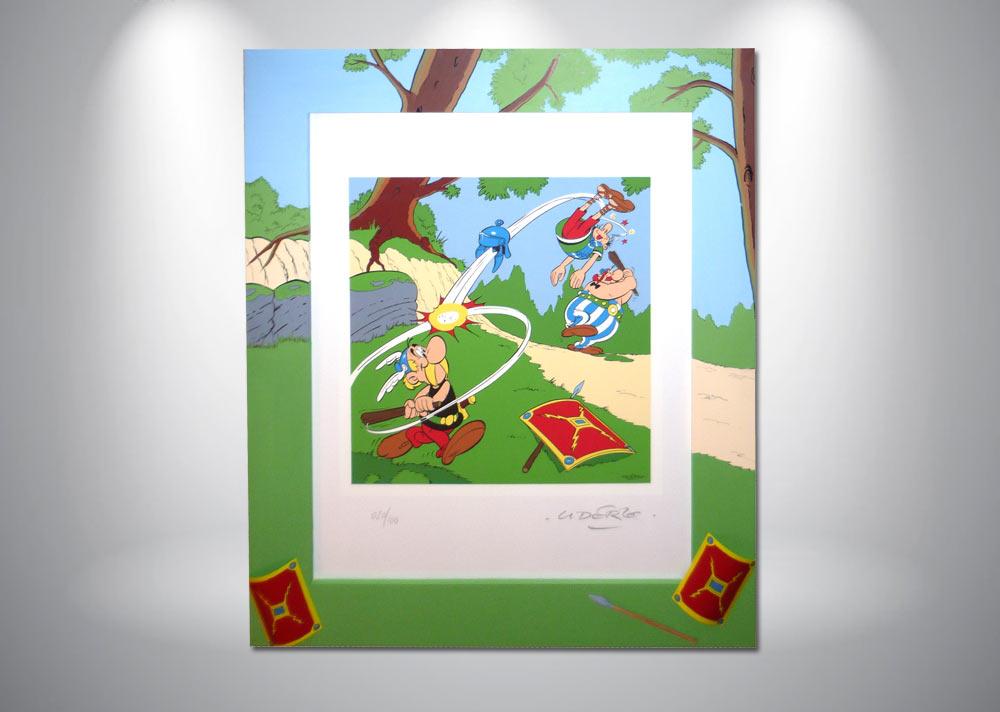 serigraphie-asterix-uderzo-gaulois