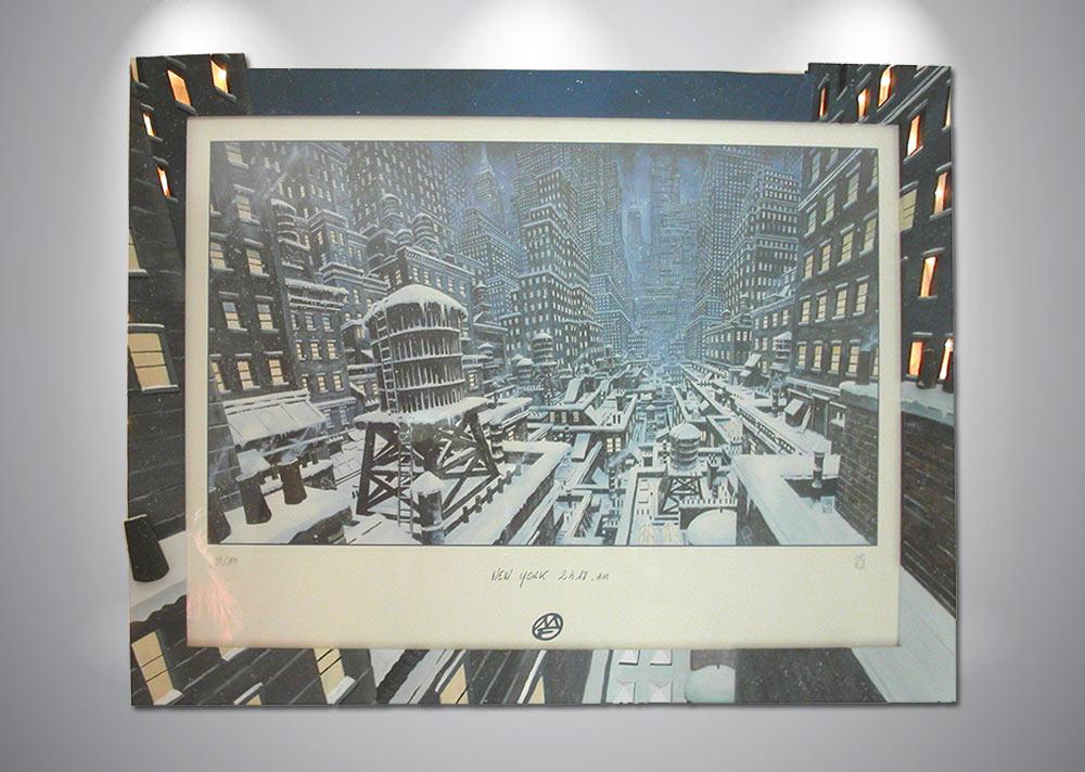 serigraphie-ledroit-new-york-neige