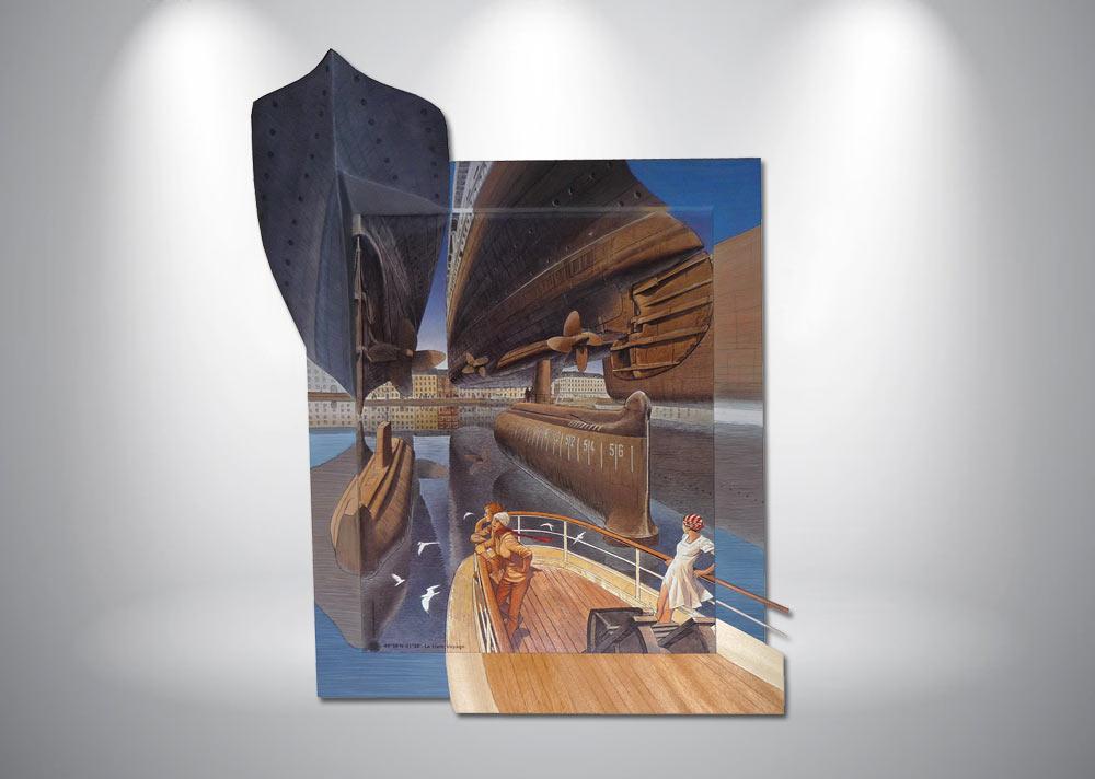 serigraphie-schuiten-bateau-encadrement-3d