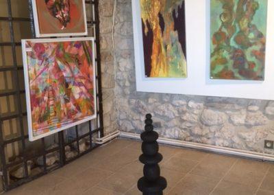 totem et peinture contemporaine