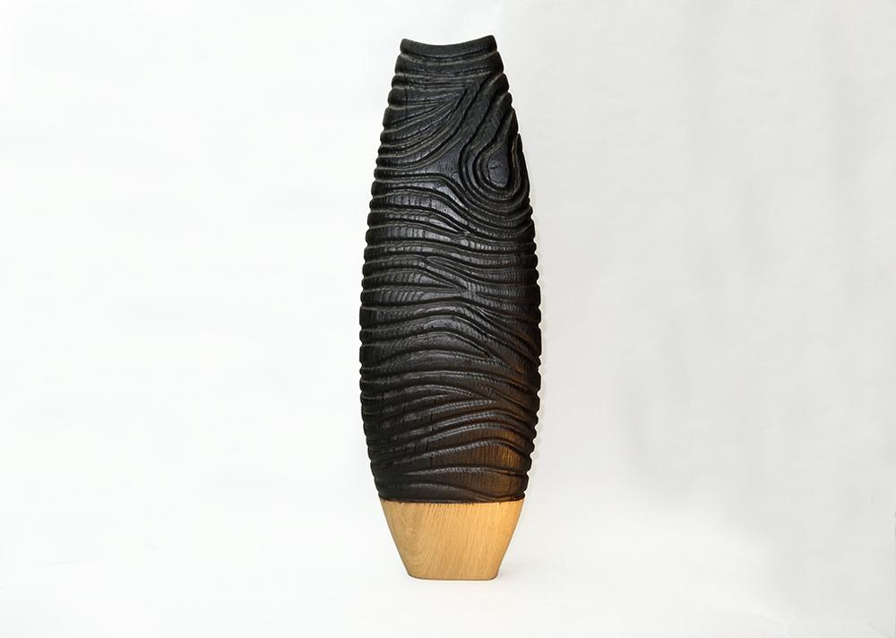 sculpture-bois-vase-chene-bruler1