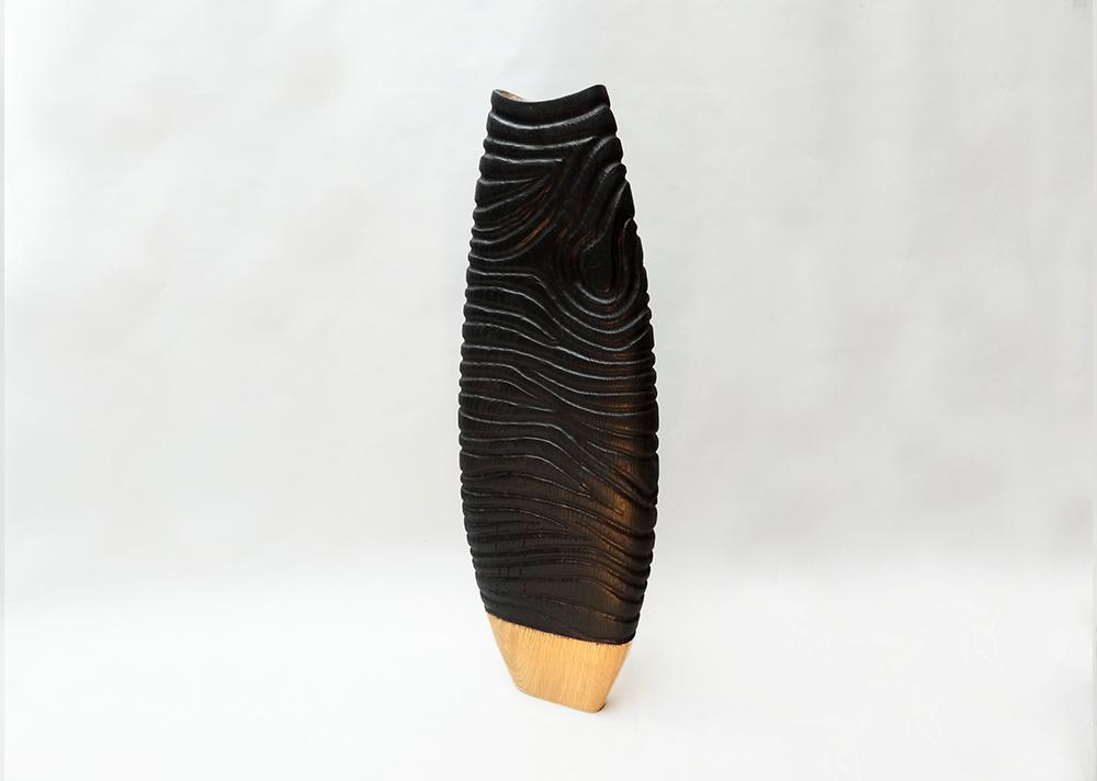 sculpture-bois-vase-chene-bruler3